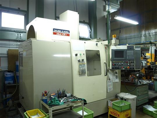 マシニングセンターミラック438V