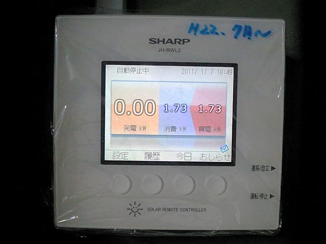2010年に工場にソーラーパネルを導入しました。